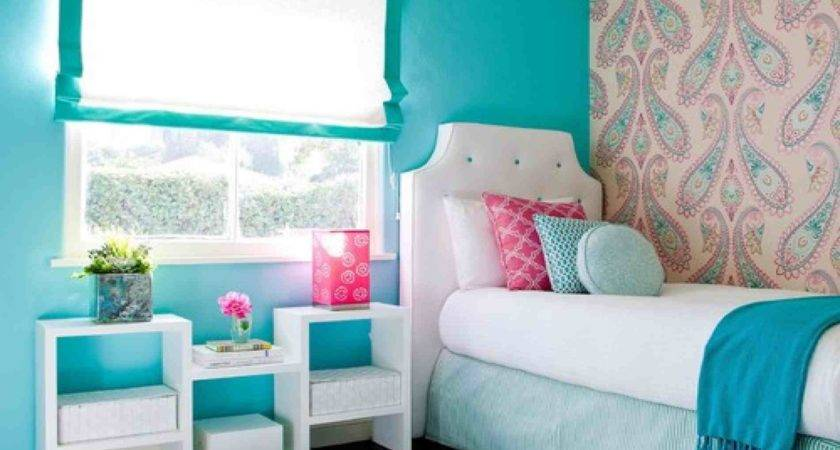 Cute Bedroom Pink Ceiling Decorations Recessed