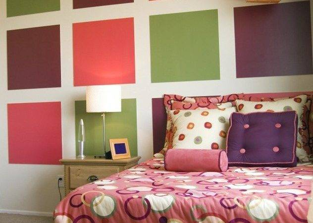 Cute Paint Bedroom Walls Different Colors Gilrs
