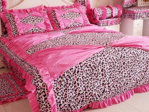 Cute Pink Comforters Teen Girls Girly Ladies