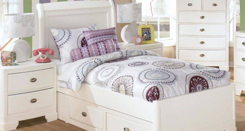 Cute Small Canopy Bed White Bedroom Furniture Girls