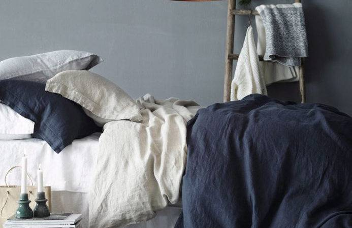 Dark Blue Gray Bedroom Small Makeover