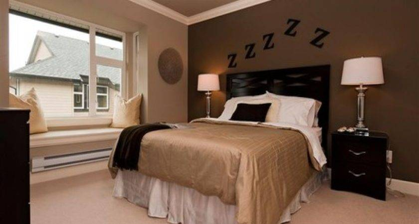 Dark Brown Accent Wall Ideas Chocolate Bedroom