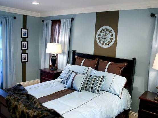 Dark Brown Baby Blue Bedroom Ideas Home Interiors