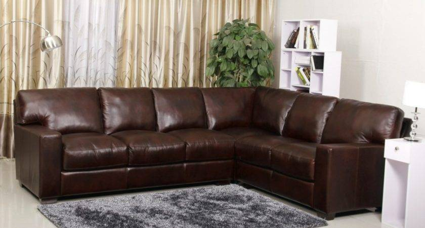 Dark Brown Faux Leather Reclining Sleeper Sofa Combined