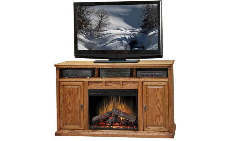 Dark Brown Wooden Fireplace Shelf Above Combined