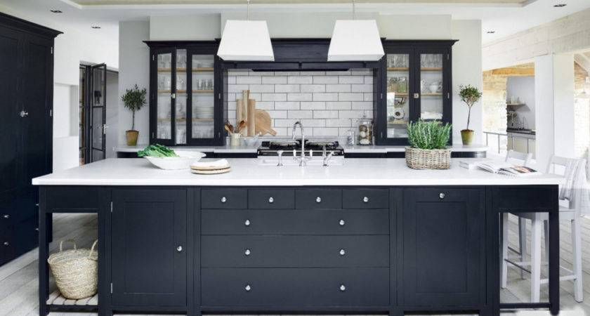 Dark Gray Kitchen Cabinets Home Design