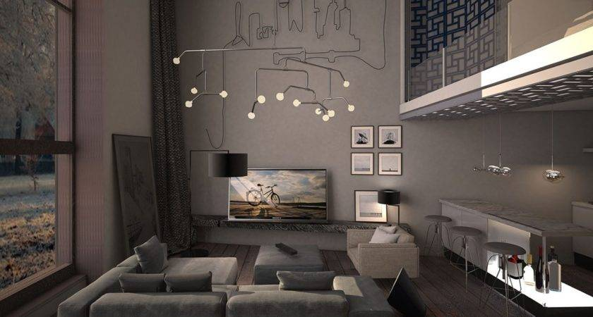 Dark Living Room Decorating Ideas Arranged
