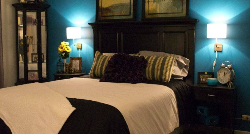 Dark Teal Bedroom Artenzo