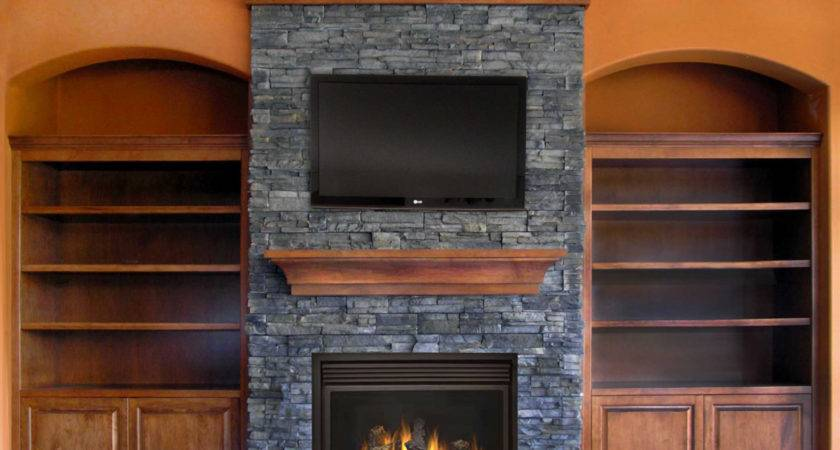 Dashing Tall Charcoal Tone Slate Stone Fireplaces Mantels