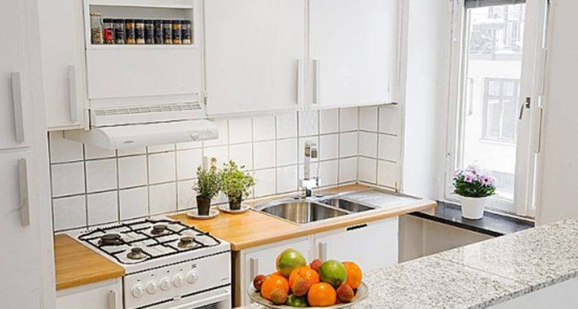 Dazzling Interior Small Apartment Kitchens