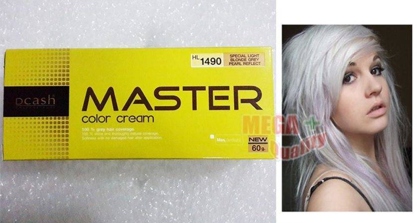 Dcash Master Permanent Color Cream Dye Goth Emo Pearl
