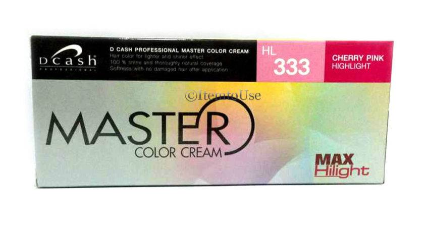 Dcash Professional Master Color Cream Instructions