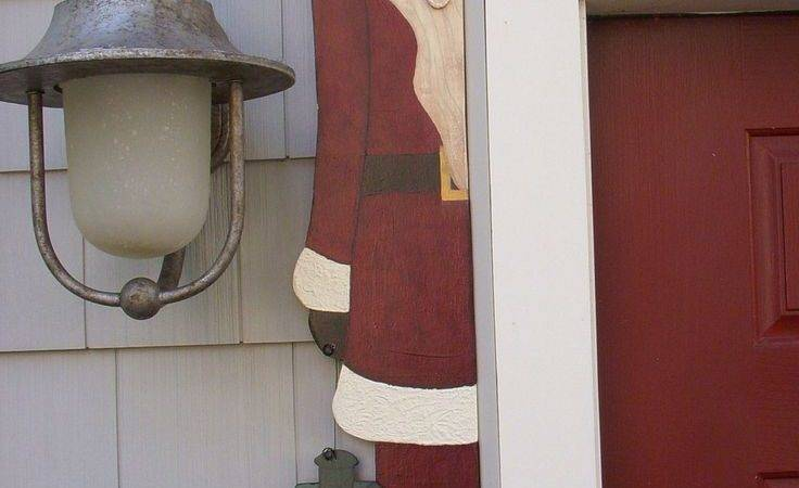 Debi Doings Pattern Santa Door Hugger Doors