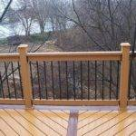 Deck Railing Here Some Woode