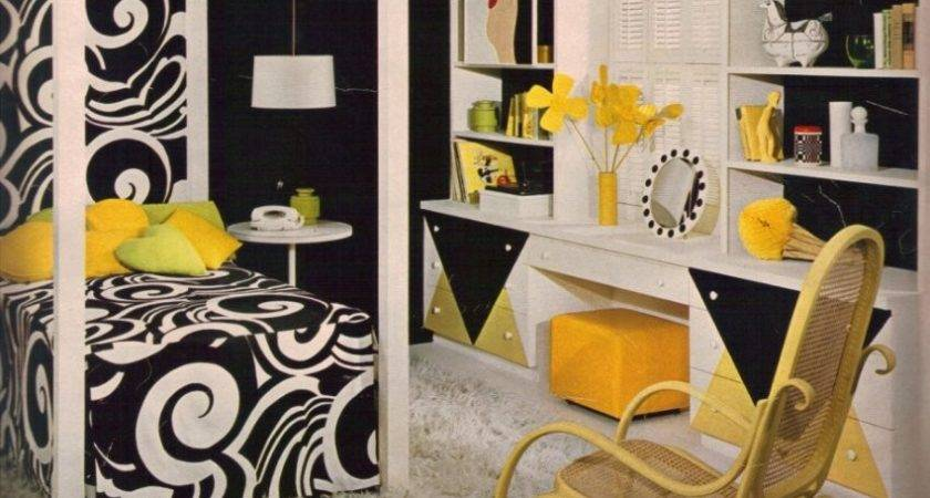 Deco Yellow Black Living Room Ideas