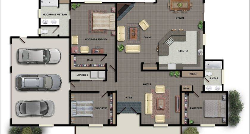 Decor House Plans Inside Master Bedroom