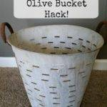 Decor Steals Olive Bucket Hack Own Home