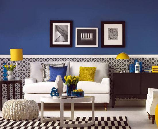 Decor Yellow Blue