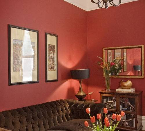 Decorate Around Red Wall Aol Finance