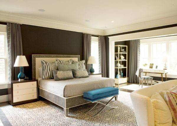 Decorate Bedroom Brown Walls