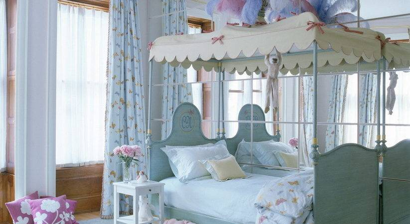 Decorate Blue Bedroom Girls Interior