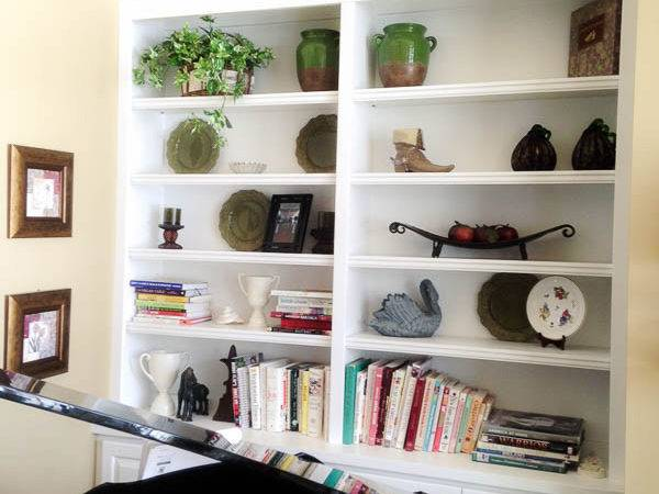 Decorate Bookshelves Tips Add Style Your