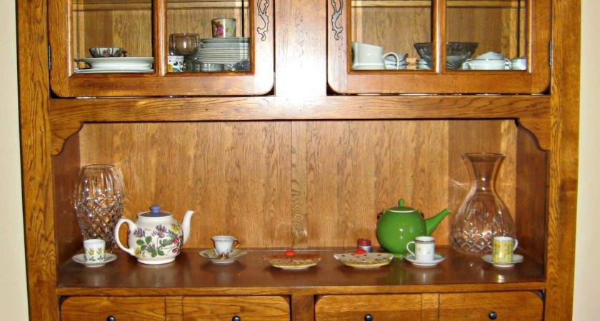 Decorate China Cabinet