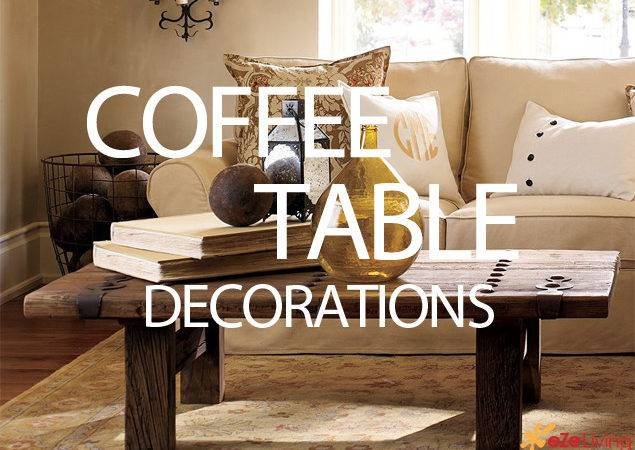 Decorate Coffee Table Pottery Barns Ezeliving