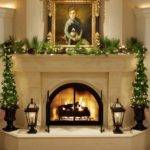 Decorate Corner Fireplace Mantel Designs