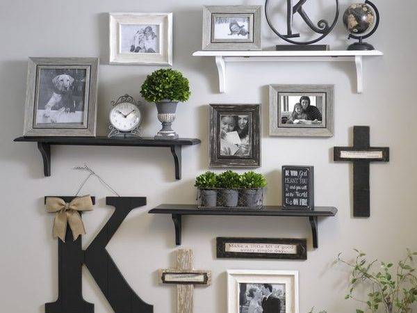 Decorate Using Wall Shelf Hooks