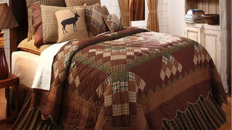 Decorate Your Bedroom Rustic Country Quilt Bedding