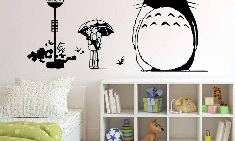 Decorate Your Home Totoro Wall Art