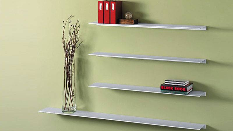 Decorate Your House Using White Floating Shelf Midcityeast