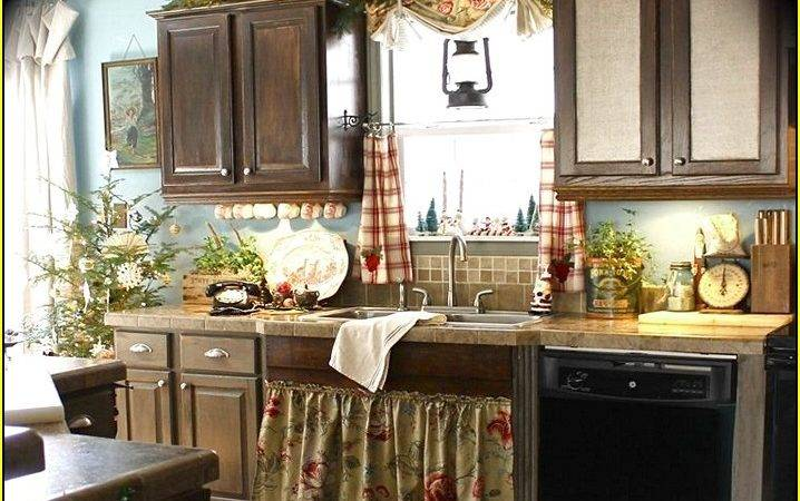 Decorating Above Kitchen Cabinets French Country Home