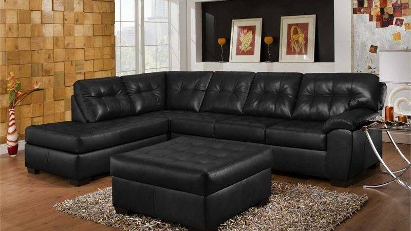 Decorating Black Leather Furniture Photos