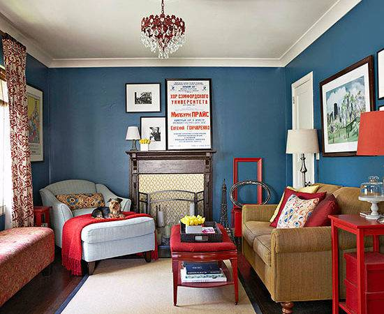 Decorating Bold Colors