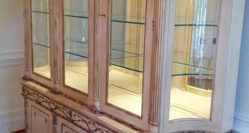 Decorating China Cabinet Interior Design