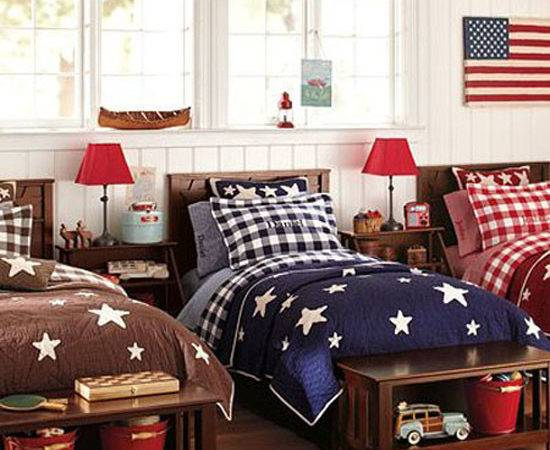 Decorating Color Red White Blue