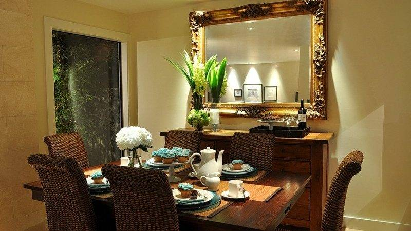 Decorating Dining Room Buffet Ideas
