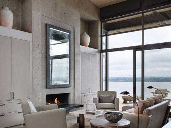 Decorating Ideas Interior Concrete Walls