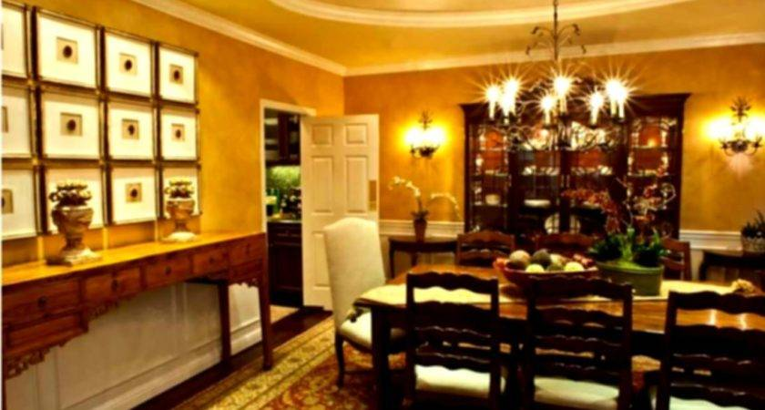 Decorating Ideas Large Dining Room Wall Home