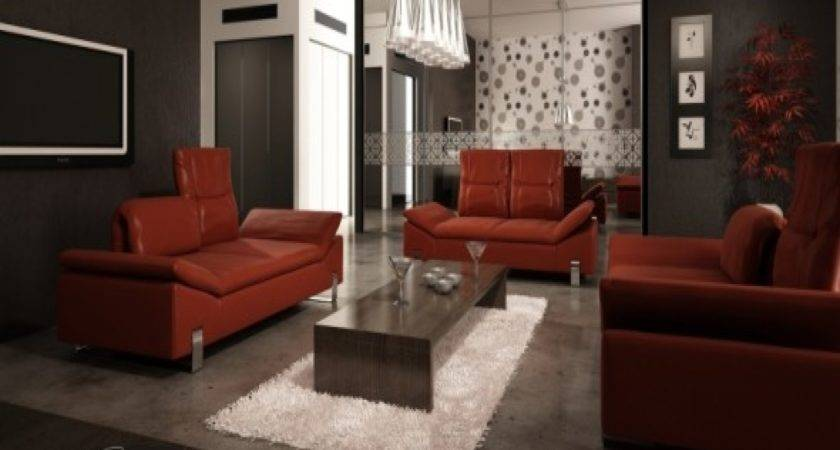 Decorating Ideas Living Room Red Leather Sofa Iron Blog