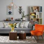 Decorating Ideas Living Rooms Orange