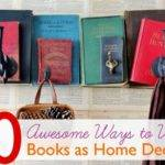 Decorating Ideas Old Books Decoratingspecial