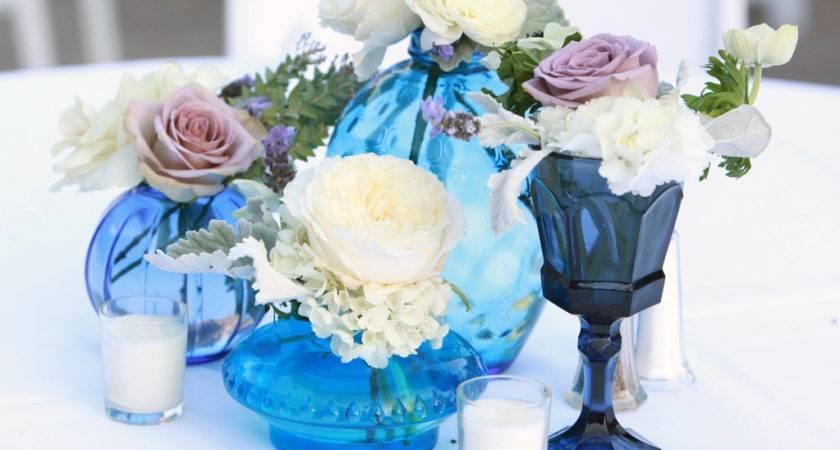 Decorating Ideas Outstanding White Blue Wedding