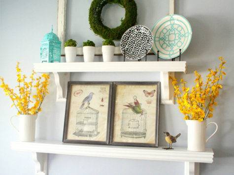 Decorating Shelves Everyday Kitchen Shelf Decor