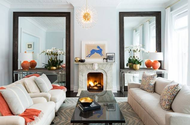 Decorating Small Living Room Ideas Different Mirrors