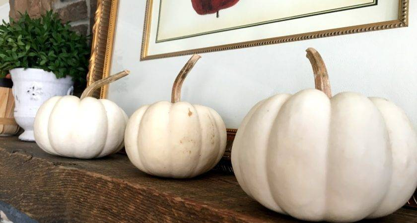 Decorating White Pumpkins Calypso Country