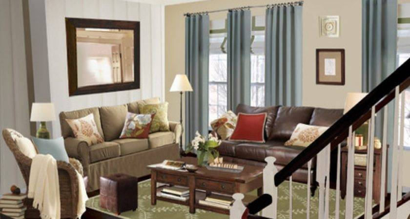 Decoration Colors Small Cottage Living Rooms