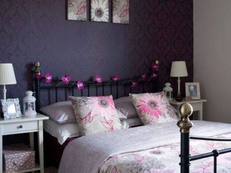 Decoration Ideas Bedroom Decorating Plum